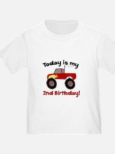 Monster Truck 2nd Birthday T