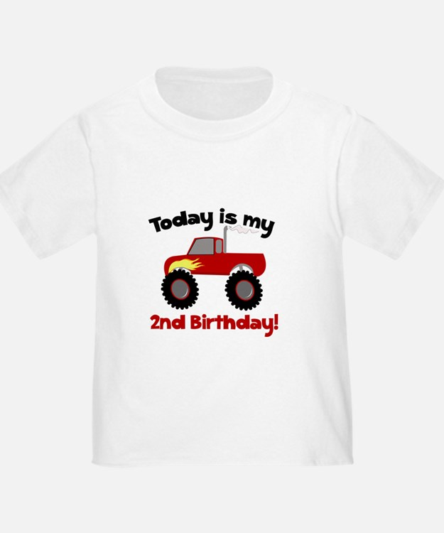 Monster Truck 2nd Birthday T
