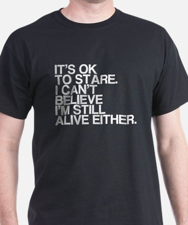 Old, OK To Stare, Funny T-Shirt