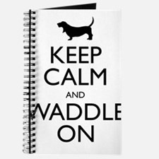 Keep Calm and Waddle On Journal