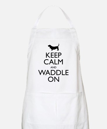 Keep Calm and Waddle On Apron