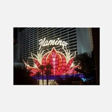 Flamingo Hotel Las Vegas Rectangle Magnet