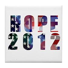 Hope 2012 Tile Coaster