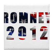 Romney 2012 Tile Coaster