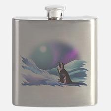 Contemplative Penguin Flask