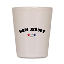 New Jersey Shot Glass
