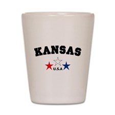 Kansas Shot Glass