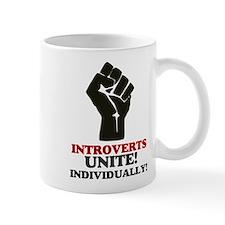 Introverts Unite Small Mug