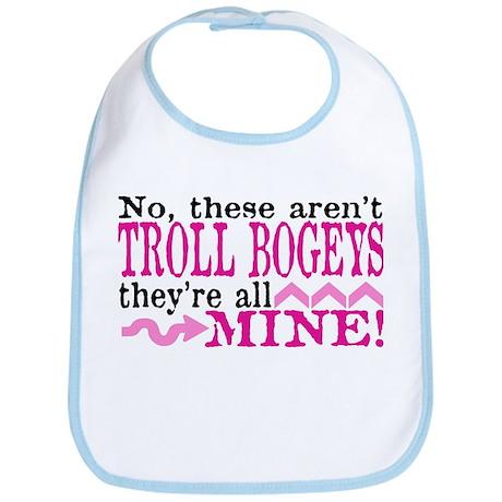 Pink Bogey Bib
