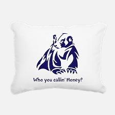 Honey Badger Tough Rectangular Canvas Pillow
