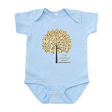 Gold Ribbon Tree Infant Bodysuit