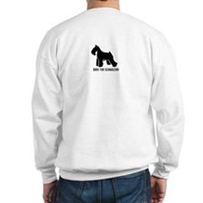 I Know a Little German! Schnauzer Sweatshirt