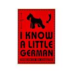 Little German! Schnauzer Magnets (10 pack)