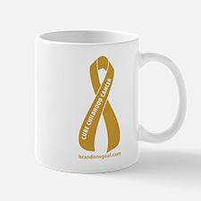 Gold Ribbon Mug