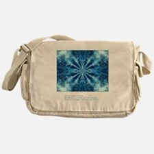 Buddha Think Quote Messenger Bag