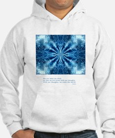 Buddha Think Quote Jumper Hoody