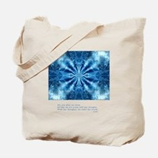 Buddha Think Quote Tote Bag