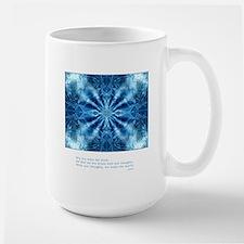 Buddha Think Quote Large Mug