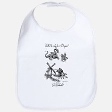 Dragons or Windmills Bib