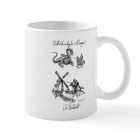 Dragons or Windmills Mug