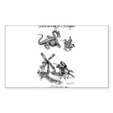 Dragons or Windmills Decal