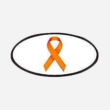Orange Ribbon Patches