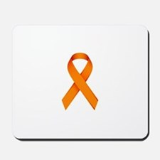 Orange Ribbon Mousepad