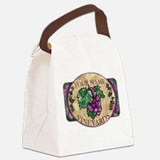 wino Canvas Lunch Bag