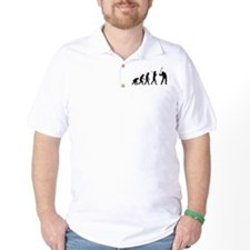 Evolved To Golf T-Shirt