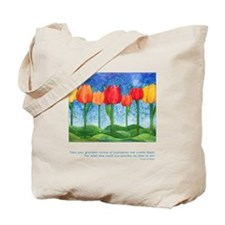 Grandest Visions Quote Tote Bag