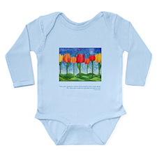 Grandest Visions Quote Long Sleeve Infant Bodysuit