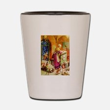 Mrs. Claus & The Elves at the North Pol Shot Glass