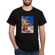 Santa & Mrs. Claus at the North Pole T-Shirt