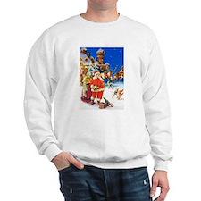 Santa & Mrs. Claus at the North Pole Sweatshirt