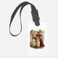 The Night Before Christmas Luggage Tag