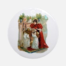 The Night Before Christmas Ornament (Round)