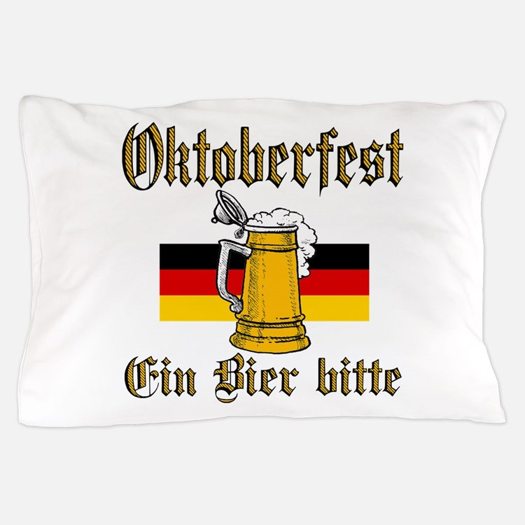 ein beer.png Pillow Case