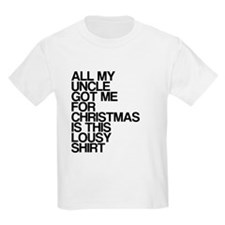 Uncle, Lousy Christmas Gift, T-Shirt