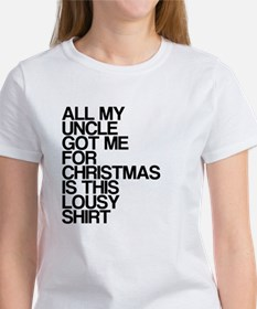 Uncle, Lousy Christmas Gift, Women's T-Shirt