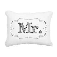 mr.png Rectangular Canvas Pillow