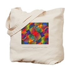 Dream Within Dream Quote Tote Bag