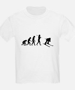 Evolved To Ski T-Shirt