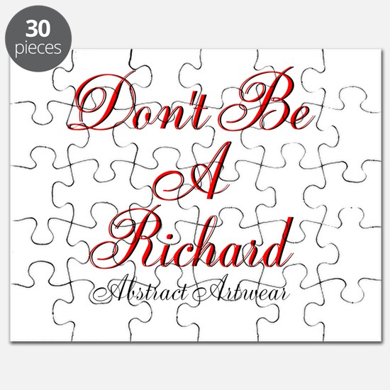 Dont Be A Richard Puzzle