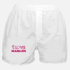I Love Marlon Boxer Shorts