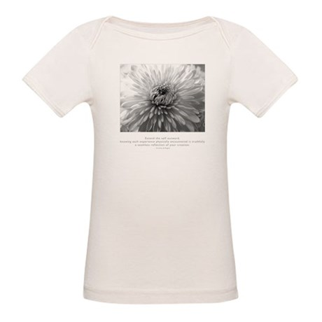 Reflection Creation Quote Organic Baby T-Shirt