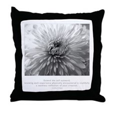 Reflection Creation Quote Throw Pillow