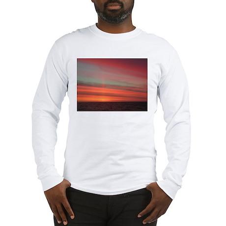 Antarctica Sunset 1 Long Sleeve T-Shirt