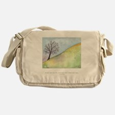 Wise Man Sees Quote Messenger Bag