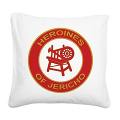 Heroines of Jericho Square Canvas Pillow