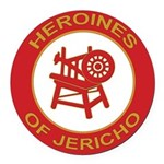 Heroines of Jericho Round Car Magnet